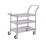 ESD Chrome plated 3 layer Cart/Trolly