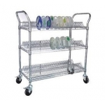 Anti-static SMT and ESD wire shelving trolley